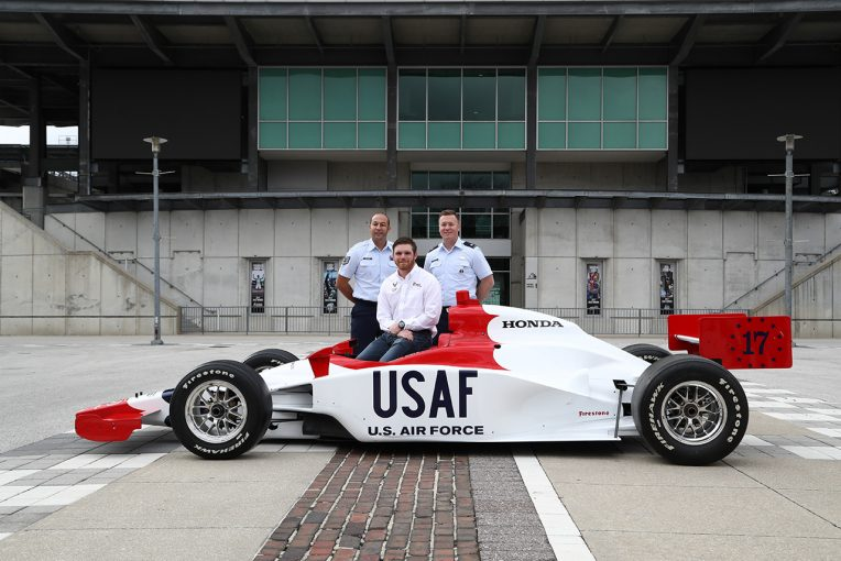海外レース他 | デイリー、アメリカ空軍をスポンサーに古巣のデイル・コイン・レーシングからインディ500参戦