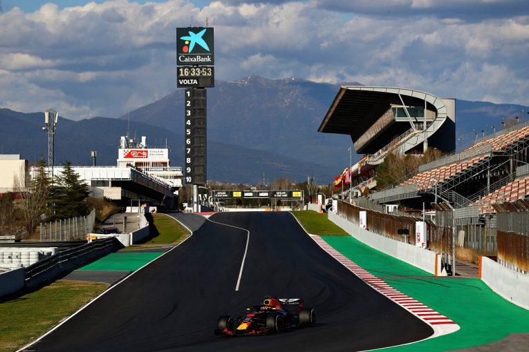 F1 | 【F1合同テスト2回目デイ2・タイム結果】ハイパーソフトのリカルド首位。トロロッソ・ホンダ、3強に続く