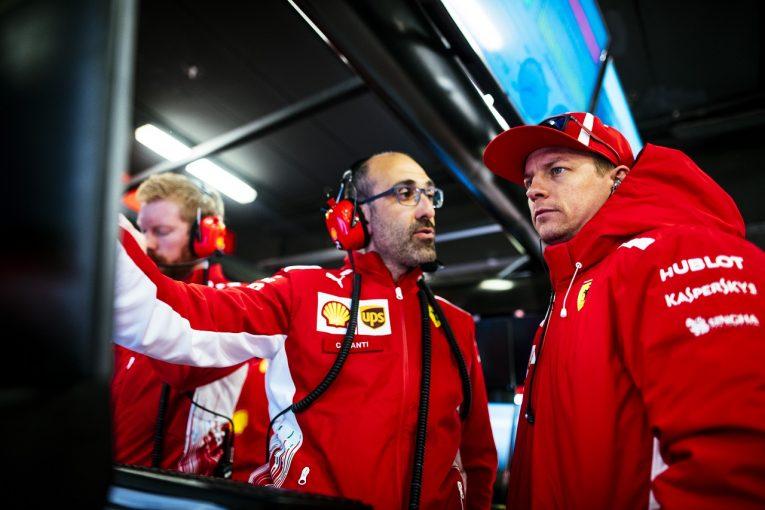 F1   フェラーリのライコネンが体調不良で急遽ベッテルも参加。合計115周を走行