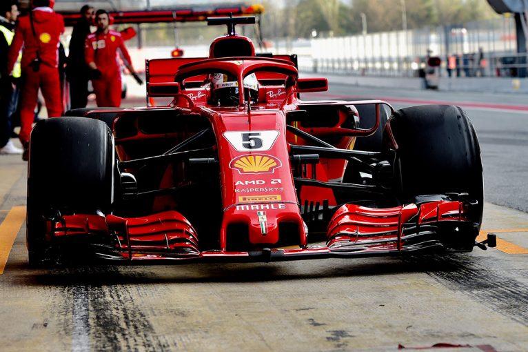 F1 | 【F1合同テスト2回目デイ3午前・タイム結果】ベッテルがトップタイム。トロロッソ・ホンダが4番手
