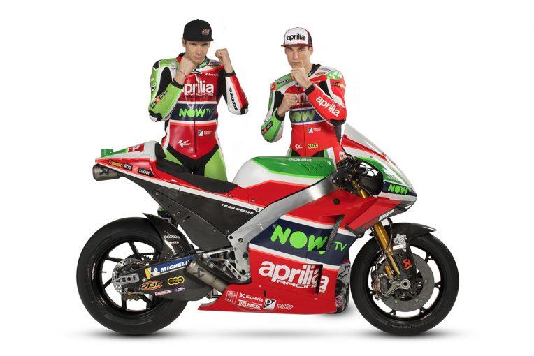 MotoGP | アプリリア、2018年型RS-GPを公開。空力カウルに加え多くのパーツを一新