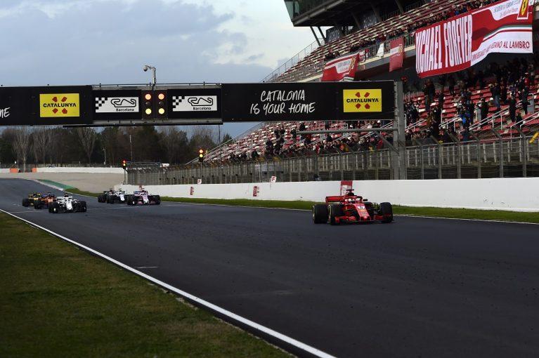 F1   【F1合同テスト2回目デイ3・タイム結果】ベッテルが唯一17秒台。トロロッソ・ホンダが3位に