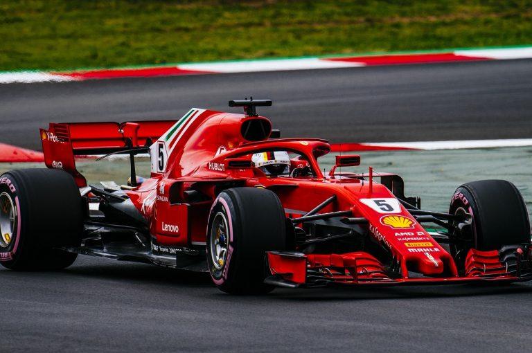F1 | ベッテル最速 ライバルはロングランに集中。トロロッソ・ホンダ、自己ベスト抹消も3位/F1テスト2回目デイ3