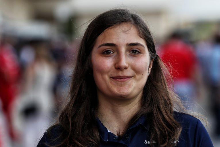 F1 | ザウバーF1、タチアナ・カルデロンをチームの公式テストドライバーに起用