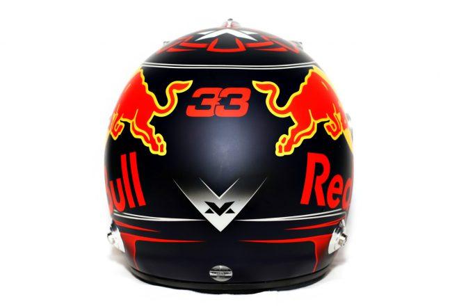 F1   マックス・フェルスタッペン(Max Verstappen) 2018年のヘルメット3