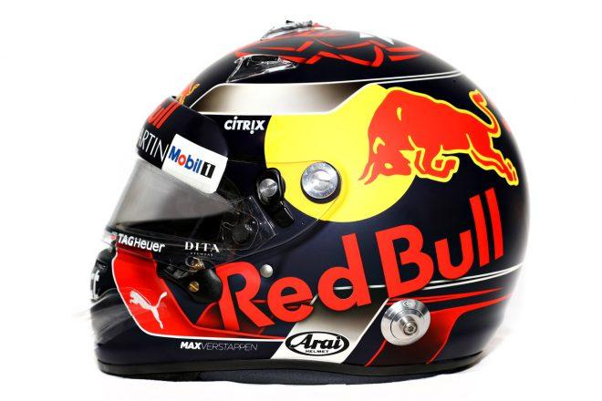 F1   マックス・フェルスタッペン(Max Verstappen) 2018年のヘルメット2