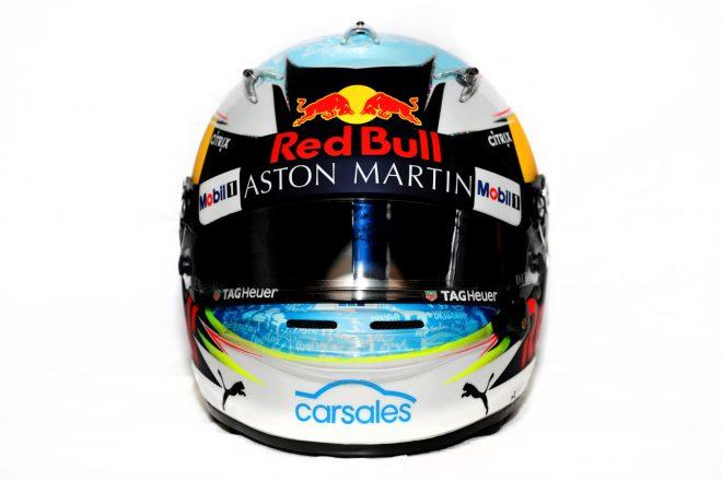 F1 | ダニエル・リカルド(Daniel Ricciardo) 2018年のヘルメット1