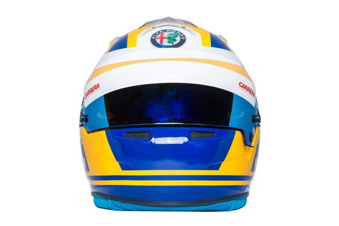 F1 | マーカス・エリクソン(Marcus Ericsson) 2018年のヘルメット2