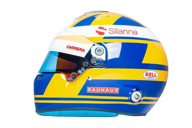 F1 | マーカス・エリクソン(Marcus Ericsson) 2018年のヘルメット1