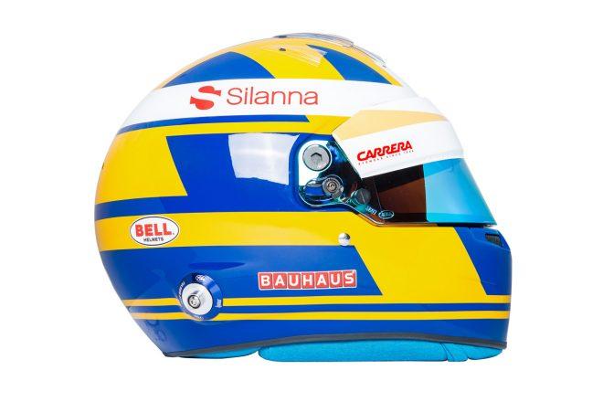 F1 | マーカス・エリクソン(Marcus Ericsson) 2018年のヘルメット3