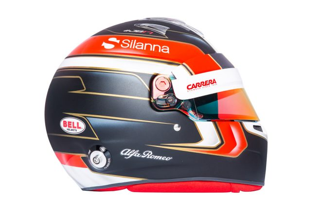 F1 | シャルル・ルクレール(Charles Leclerc) 2018年のヘルメット3
