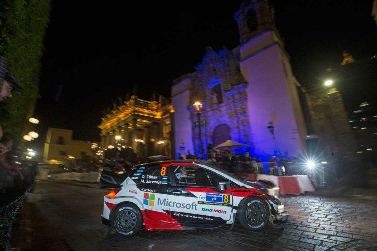 ラリー/WRC | WRC:トヨタ、昨年苦しんだメキシコで3台が好発進。ラトバラ「エンジン、足回りの進化を感じた」