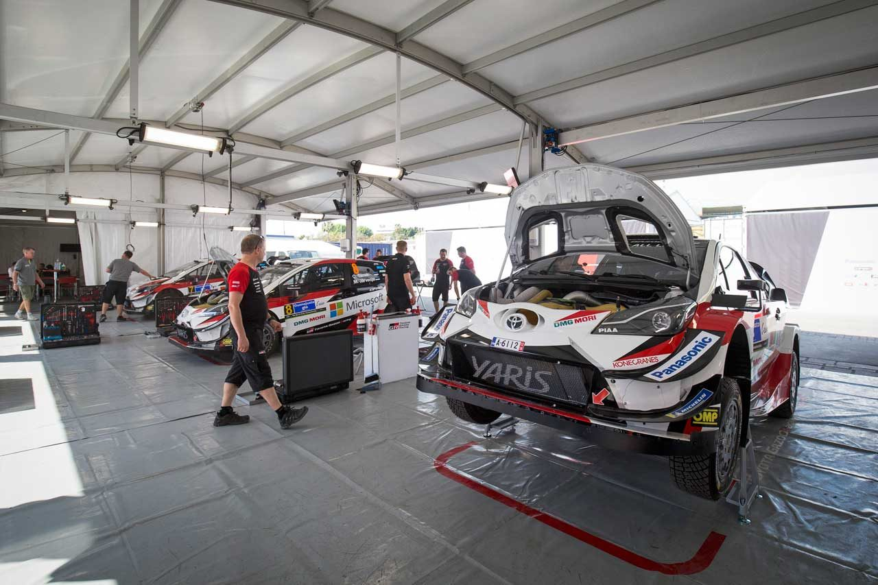 WRC:トヨタ、昨年苦しんだメキシコで3台が好発進。ラトバラ「エンジン、足回りの進化を感じた」