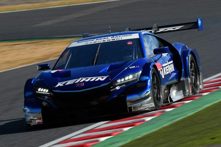 スーパーGT | スーパーGT鈴鹿テスト:ウエット〜ドライの2日目はKEIHINがトップタイム。NSXワン・ツー