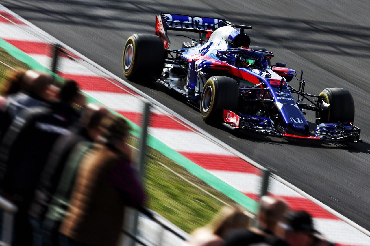 2018年第2回F1バルセロナテスト4日目:ブレンドン・ハートレー(トロロッソ・ホンダ)