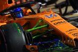 F1   一瞬トップタイムのアロンソ「少しだけポテンシャルを示すことができた」。マクラーレンへの信頼失わず