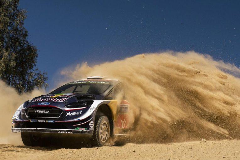 ラリー/WRC | WRCメキシコ:ローブが首位浮上もパンクで後退。王者オジェがトップで最終日へ