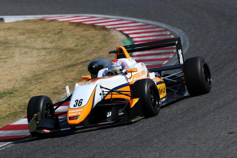 国内レース他 | 全日本F3:鈴鹿合同テストがスタート。初日は坪井翔がトップタイムをマーク