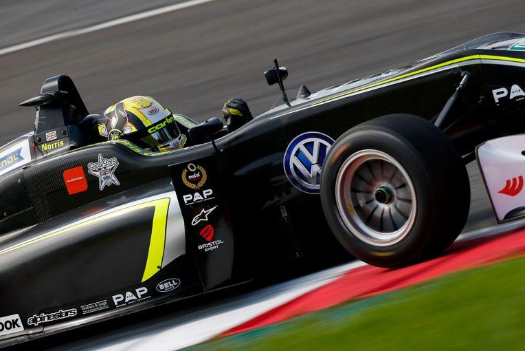 2017年、フォルクスワーゲンエンジンでFIAヨーロピアンF3チャンピオンを獲得したランド・ノリス