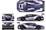 ブランパンGTシリーズ・アジアに参戦するKCMGの45号車アウディR8 LMS GT3