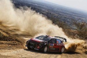 総合3位を獲得したクリス・ミーク(シトロエンC3 WRC)