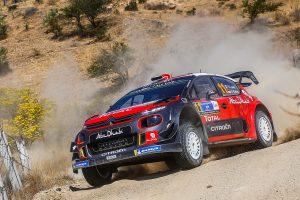 セバスチャン・ローブがドライブしたシトロエンC3 WRC