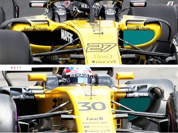 F1 | 【F1新車分析】ルノーRS18:前年型からさらにスリム化。まずは第2集団の先頭へ