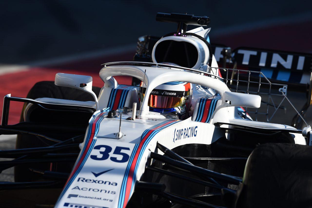 2018年第2回F1合同テスト最終日のシロトキン