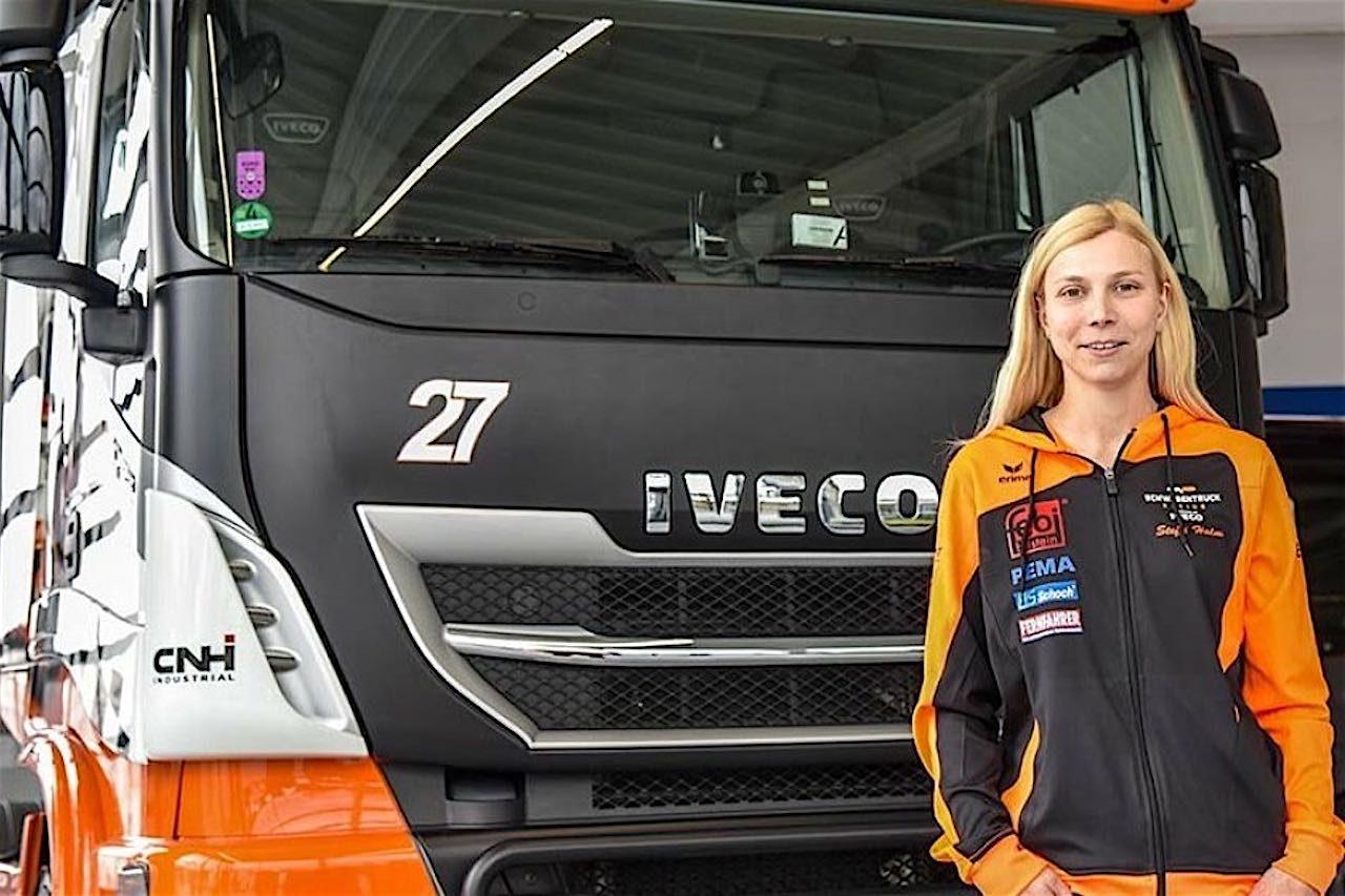 ETRC:女性ドライバーのシュティフィ・ハルムが古豪に移籍。イベコをドライブ