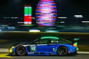 2018デイトナ24時間でGTデイトナクラス9位となった15号車レクサスRC F GT3