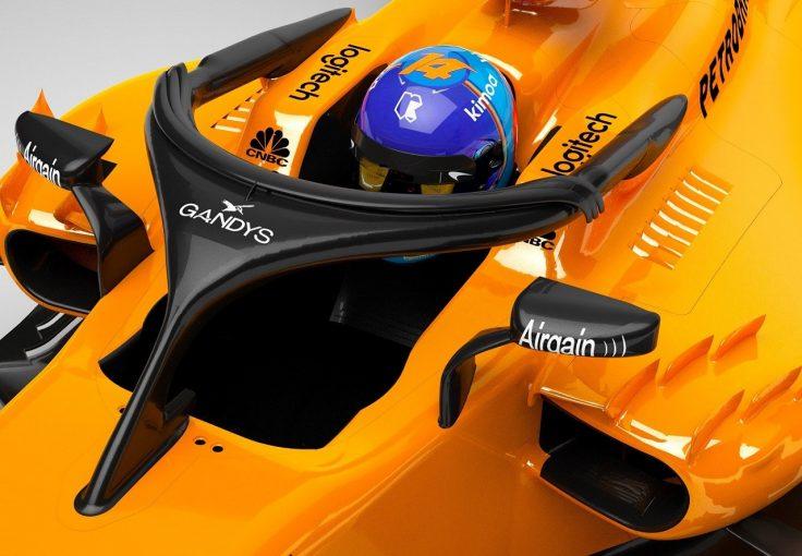 F1 | マクラーレンF1、ハロへの揶揄を利用しスポンサーを獲得。ビーチサンダルブランドとタイアップ