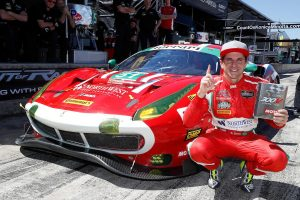 2戦連続でGTデイトナクラスポールを獲得したスピリット・オブ・レースのダニエル・セラ