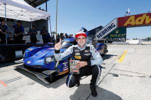 ポールポジションを獲得したトリスタン・ボーティエ(90号車キャデラックDPi-V.R)
