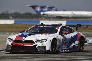 デビュー2戦目でクラスポールを獲得した25号車BMW M8 GTE