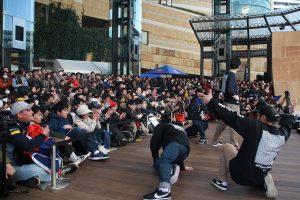 FOUND NATIONによるダンスパフォーマンス