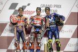 2018MotoGP第1戦カタールGP決勝トップ3