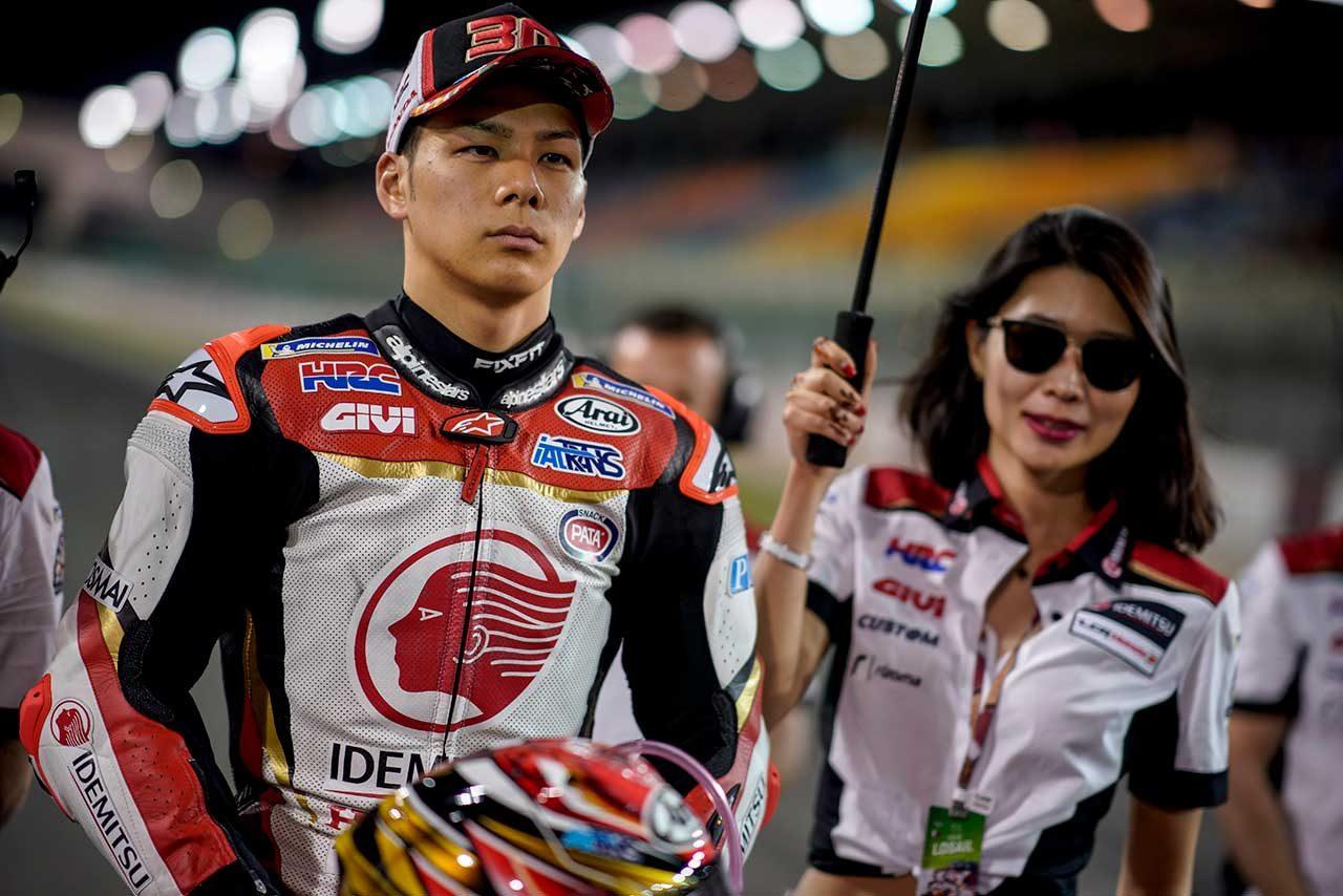 中上、MotoGPクラスデビューレースはポイント圏内まで1秒差の17位。「満足はしていない」