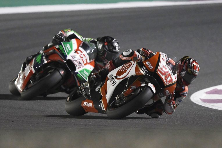 MotoGP | 中上、MotoGPクラスデビューレースはポイント圏内まで1秒差の17位。「満足はしていない」