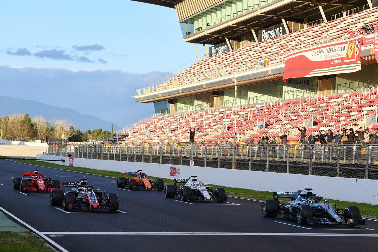 2018年F1テスト スタート手順のシミュレーション