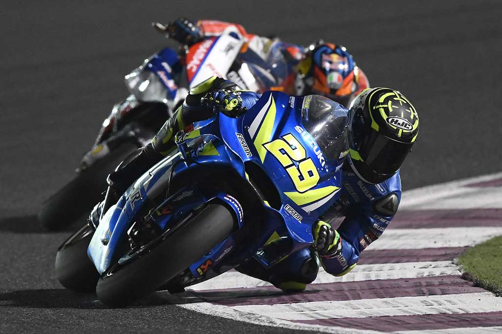 MotoGP:スズキ 2018第1戦カタールGP レースレポート