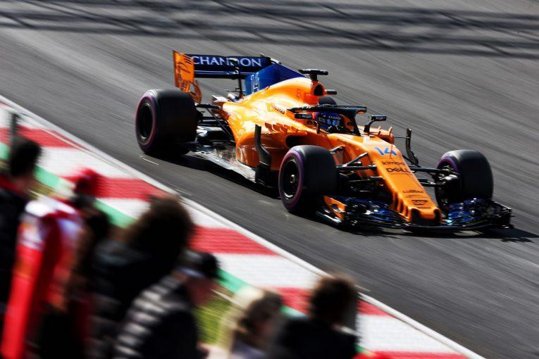 F1   マクラーレンF1、「テスト中の問題をすべて解決」も、開幕戦での奇跡は期待せず