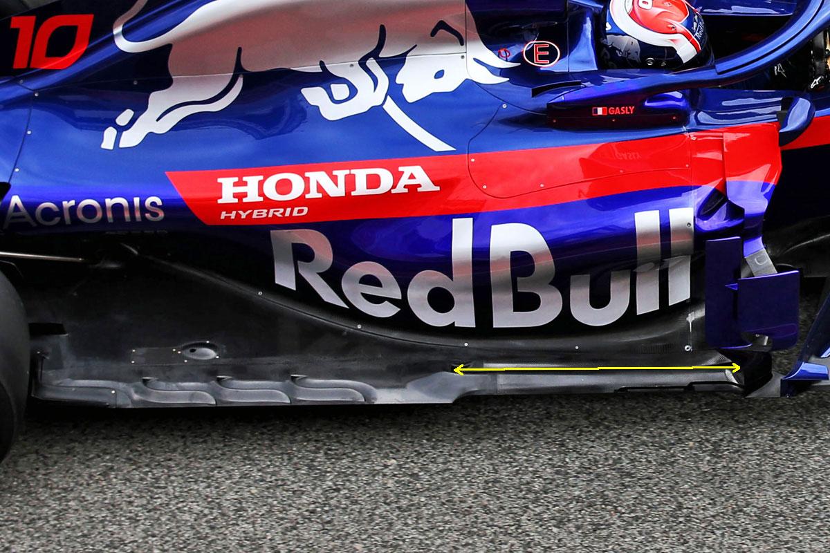 【F1最新技術ピックアップ】フロアに大胆なスリットを入れることで空力向上を狙うマクラーレン