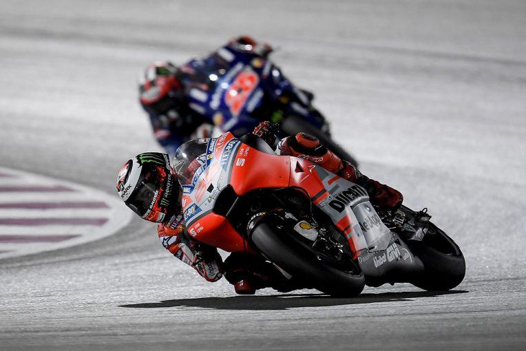 MotoGP   転倒リタイアのドゥカティ ロレンソ、「序盤からフロントブレーキに問題があった」