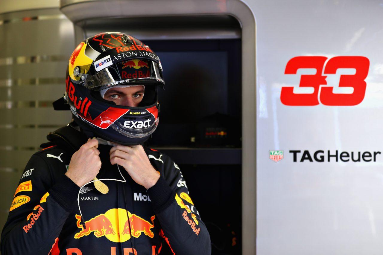 2018年F1合同テストでのフェルスタッペン