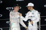 F1   元F1王者ロズベルグ、ハミルトンの弱点を指摘。「最高のドライバーだが安定感に欠けることがある」