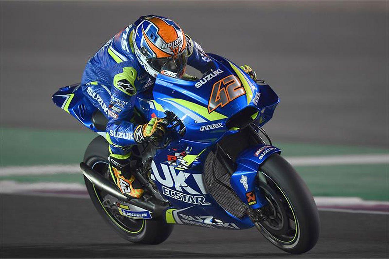スズキのイアンノーネ、MotoGP開幕戦カタールGPは「フロントグリップを失っていた」