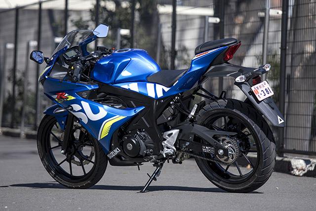 スズキGSX-R125(左リヤ)