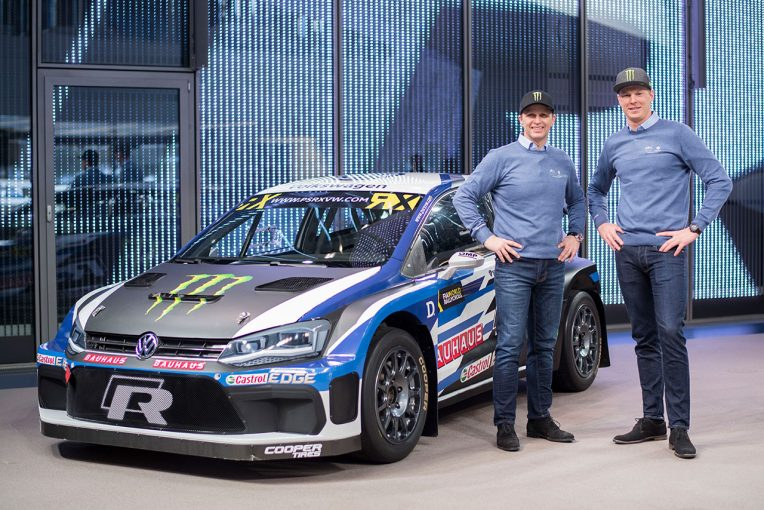 ラリー/WRC | 世界ラリークロス:フォルクスワーゲン、王座防衛に挑む2018年型『ポロR スーパーカー』公開