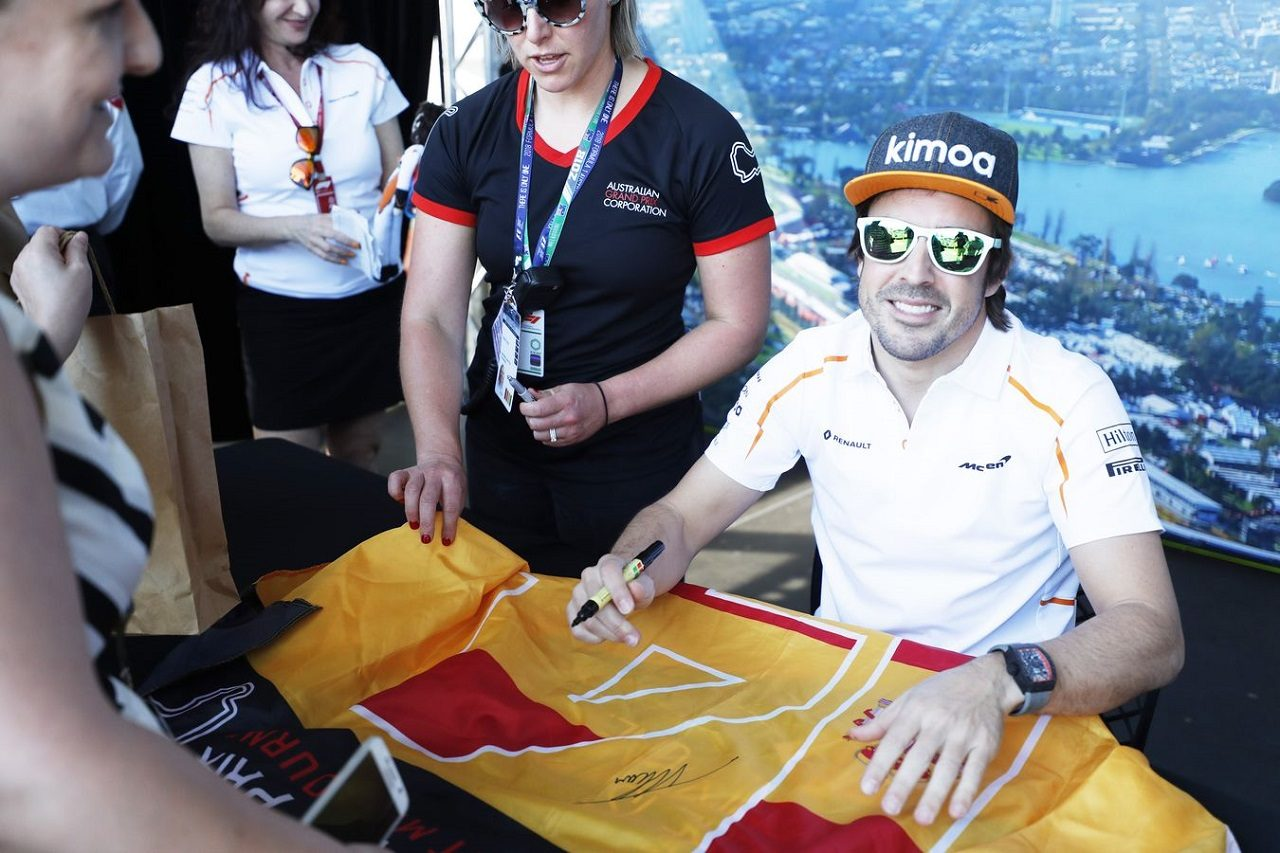 2018年F1第1戦オーストラリアGP フェルナンド・アロンソ(マクラーレン)