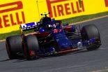 F1 | F1オーストラリアGP FP1:トロロッソ・ホンダのガスリーが11番手、脆いが速いマクラーレンのアロンソは8番手